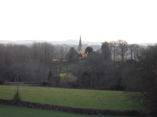 Midgham Church from Descent from Wootten's