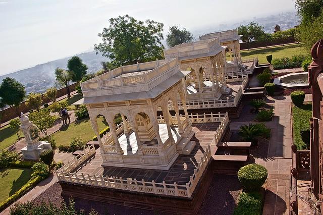 Jaswant Thada, Mehrangarh fort
