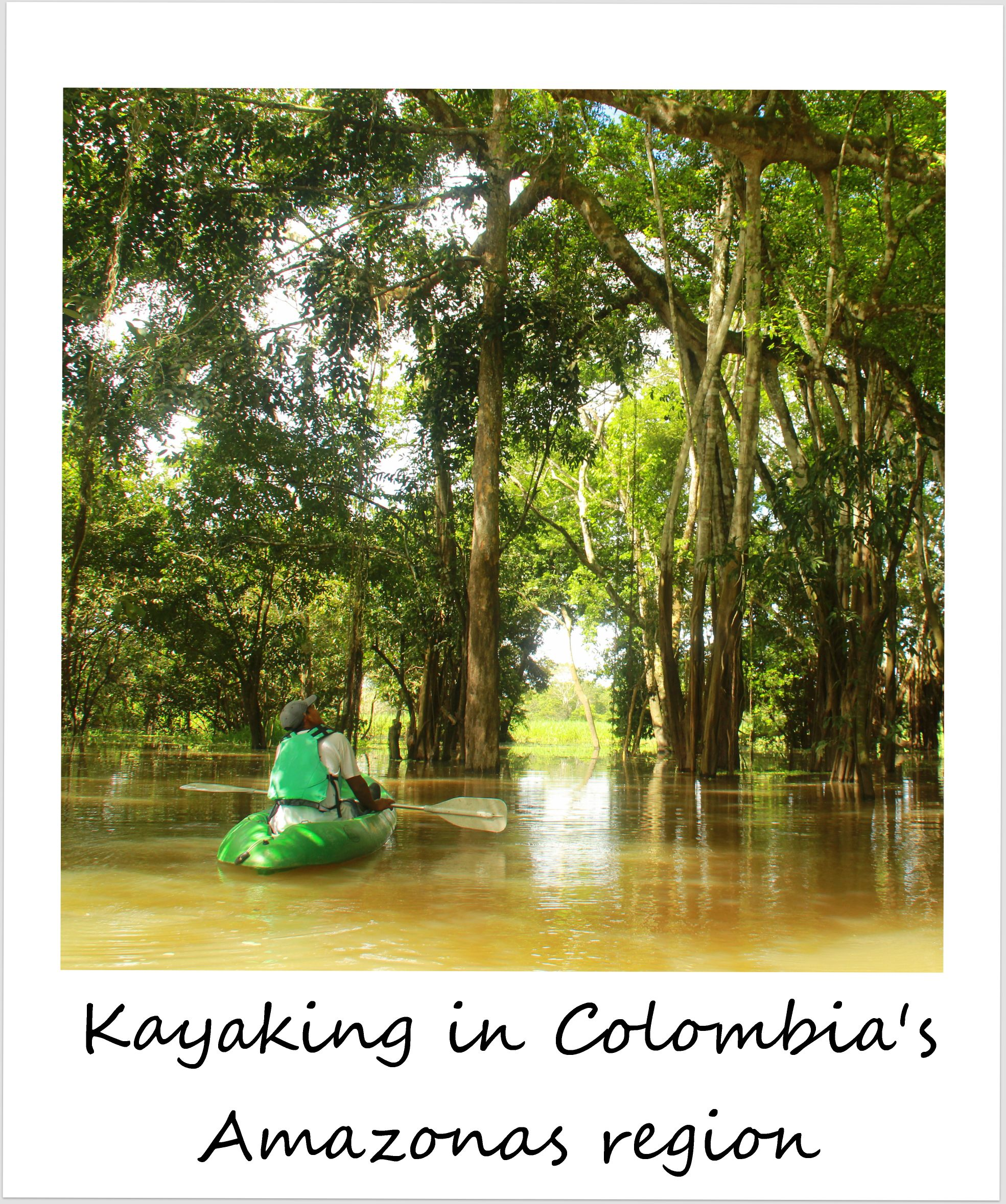 polaroid of the week colombia amazon