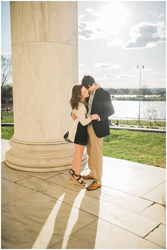 Stephanie & Chris | DC Cherry Blossom Engagement