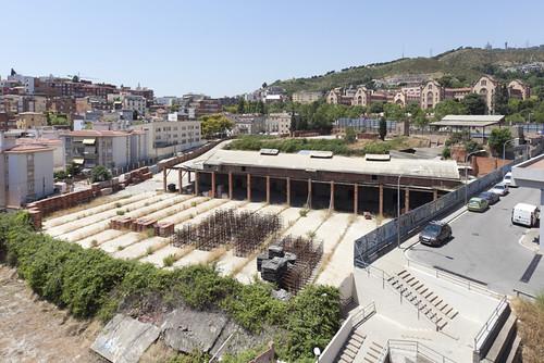 restes de la bòbila Carmen barri Taxonera Barcelona I