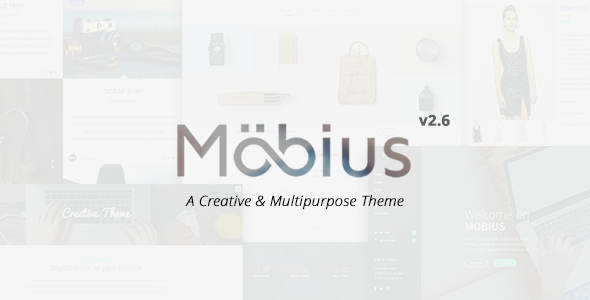Themeforest Mobius v2.6.0 - Responsive Multi-Purpose WordPress Theme