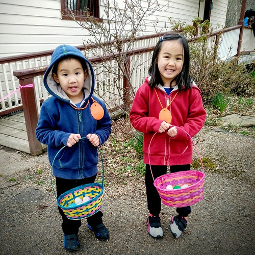 Easter egg hunt 2016 at Colvin Run Mill.