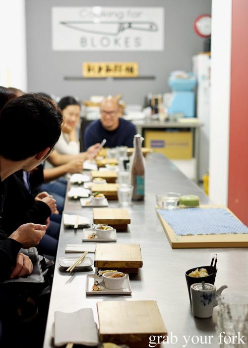Group dining at Sashimi Shinsengumi, Crows Nest