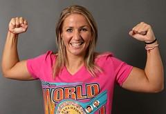 Weltmeisterin Nikki Adler vor Titelverteidigung