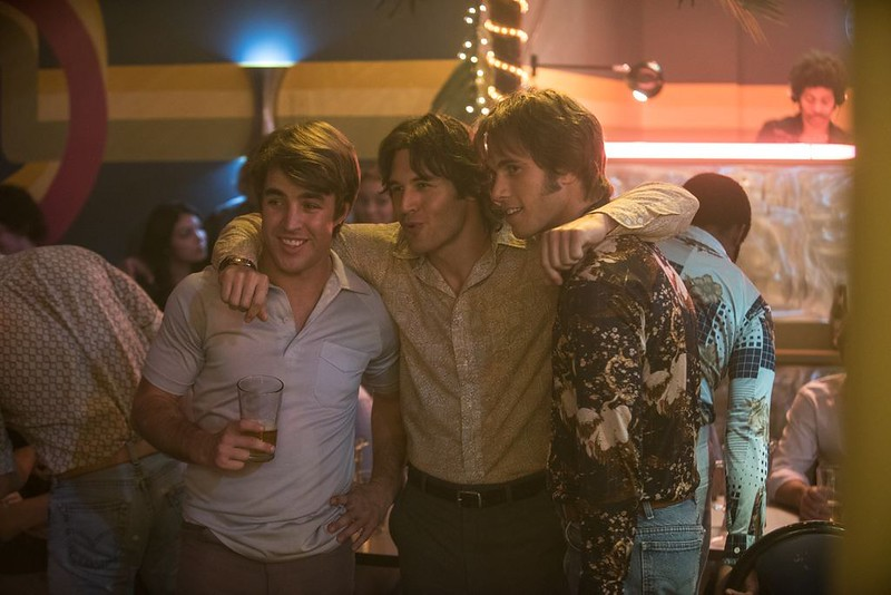 Temple Baker, Ryan Guzman and Blake Jenner make the pre-college party rounds in EVERYBODY WANTS SOME!!