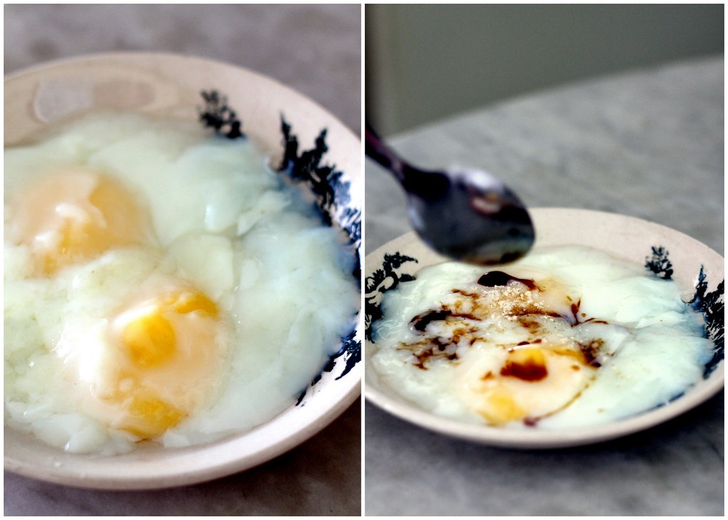 Malacca Food Guide: Lung Ann Refreshment Kopitiam Soft Boiled Eggs