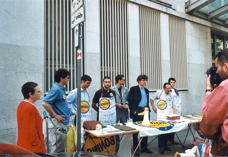 Campagna elettorale 2001