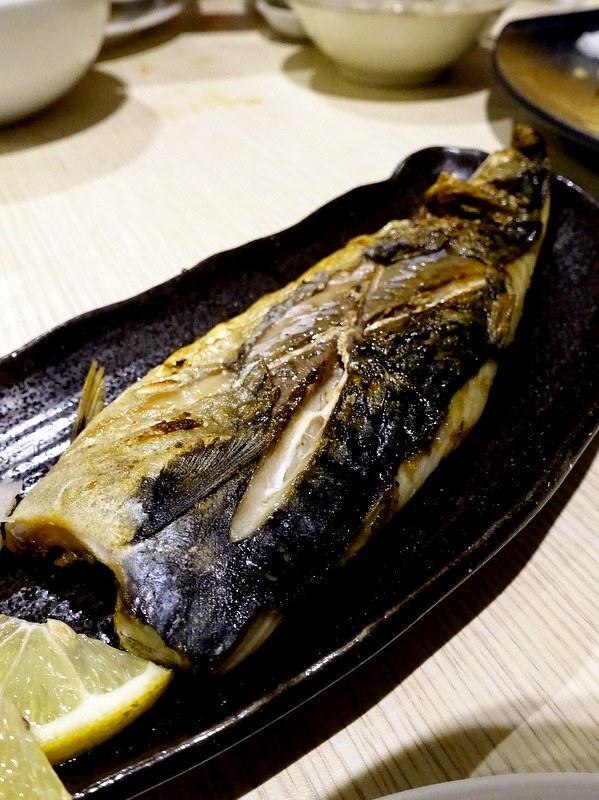 Oedo Japanese Restaurant- Saba Shioyahi P260