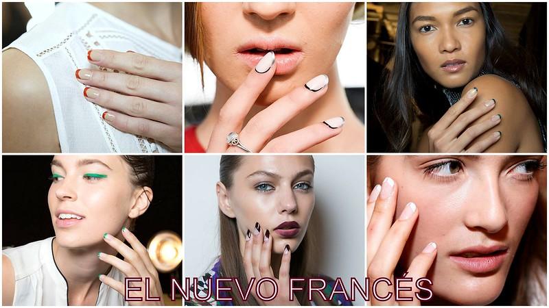 Tendencias de uñas:El nuevo francés