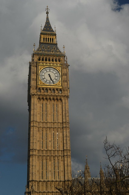 The Clock Tower of the Houses of Parliament