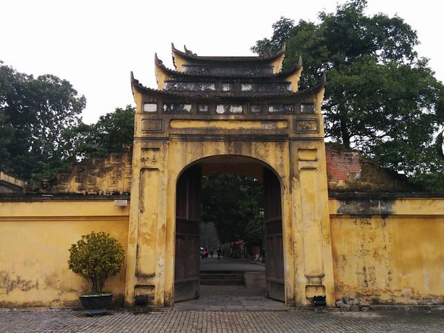 Doan Mon gate @ Hanoi Citadel