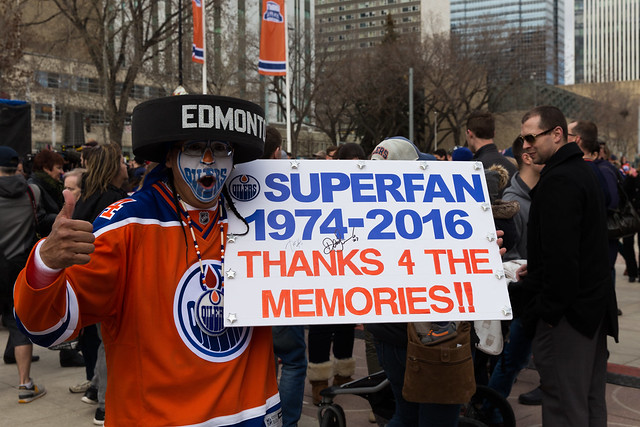 Oilers Superfan