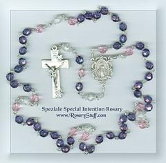 Czech Glass Custom Speziale Special Intention Rosary