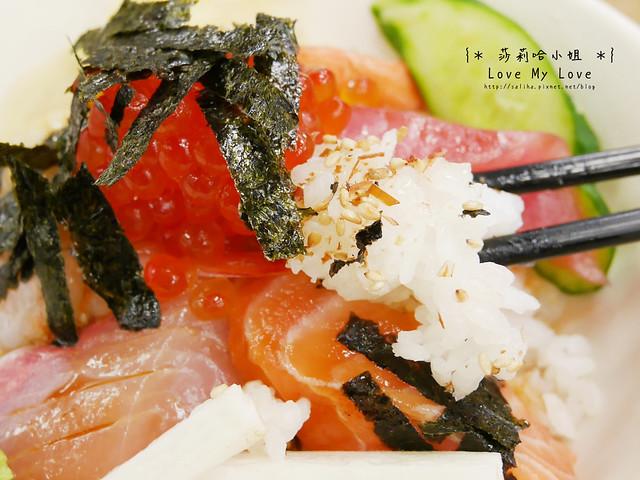 台北西門町美食餐廳推薦美觀園生魚片飯 (13)