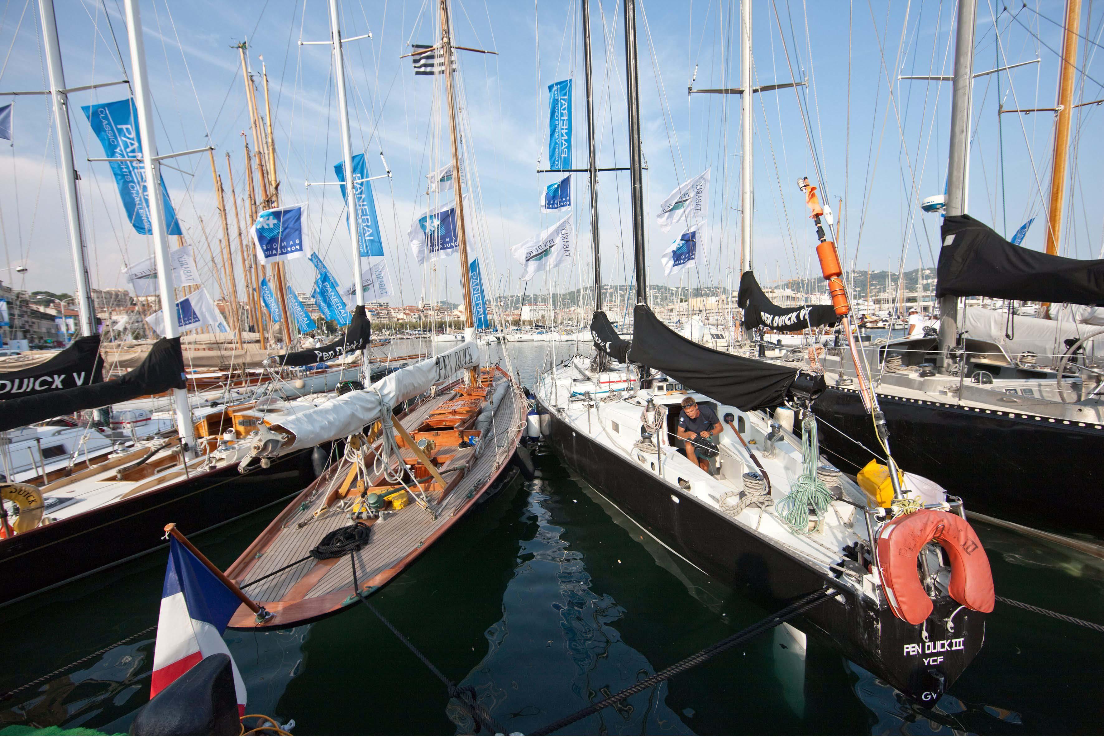La Flotte des Pen Duick aux Voiles de Saint Tropez - G.MARTIN RAGET-BPCE (3)