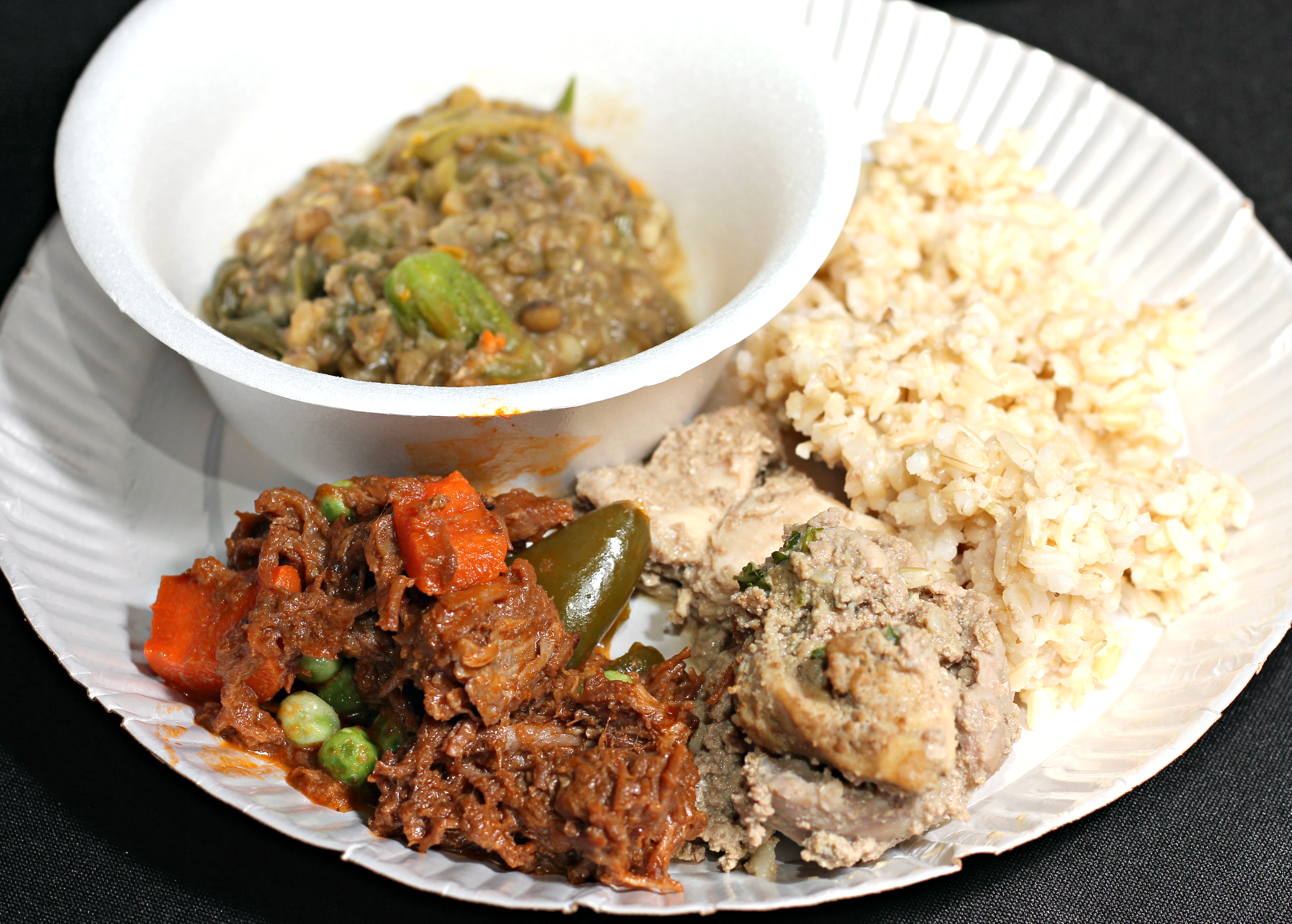世界街食品大会午餐