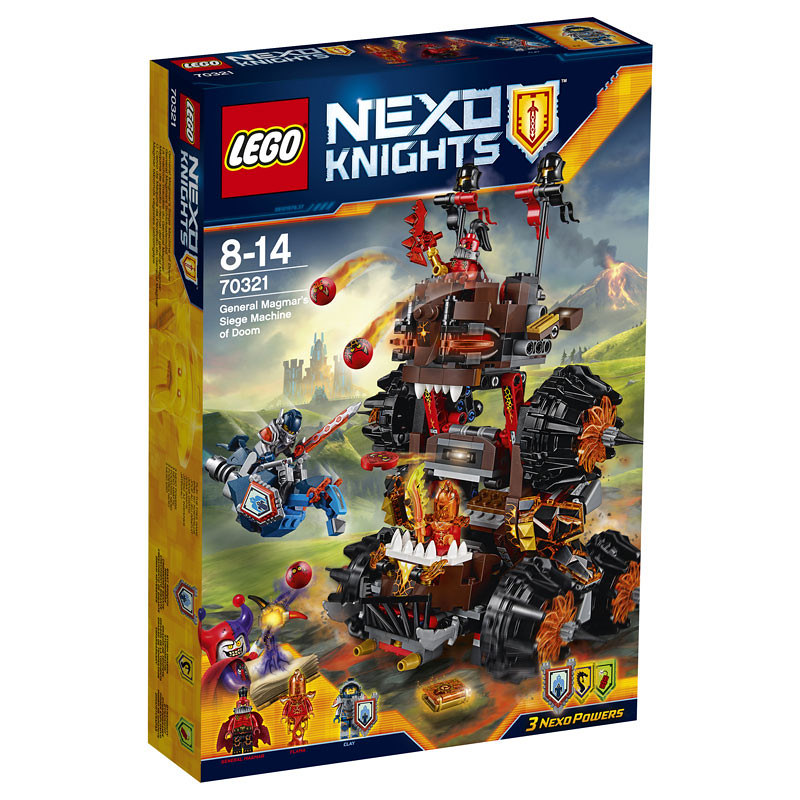 LEGO Nexo Knights 70321 - General Magmar's Siege Machine of Doom