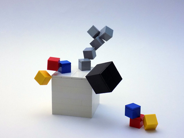 Art LEGO illusion