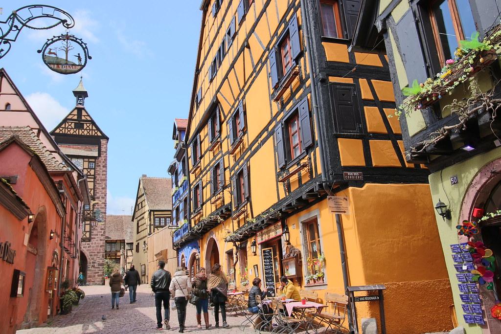 Alsace Wine Road - Riquewihr
