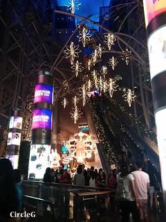 朗豪坊 MONGKOK HONGKONG LINE 連我 2015 CIRCLEG 聖誕裝飾 (3)