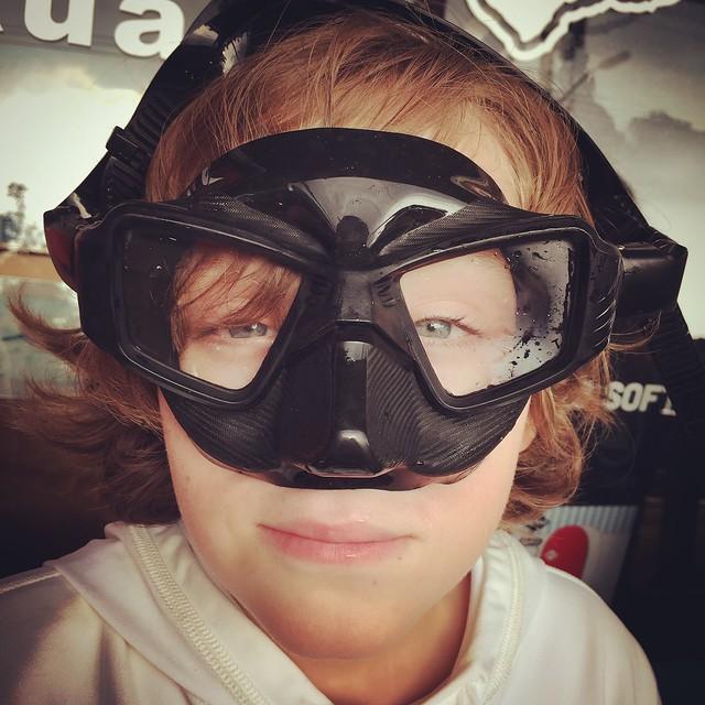 "Lorenz got the ""Batman"" mask"