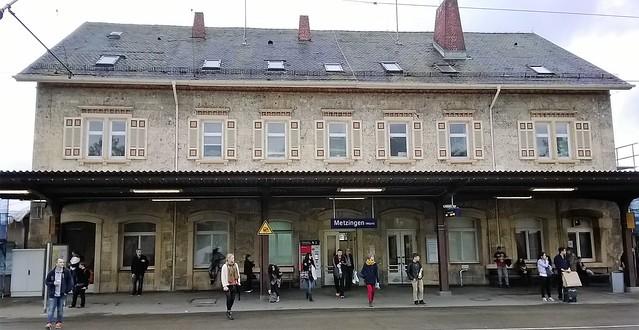 metzingen train station