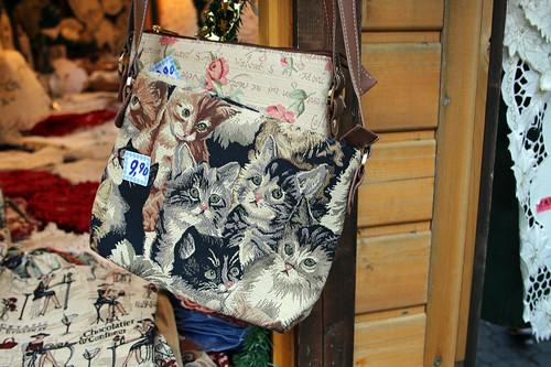 cute cat bag