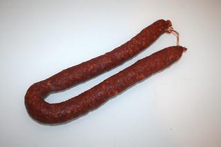 07 - Zutat Chorizo / Ingredient chorizo