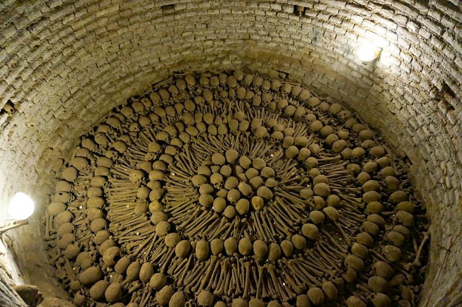 Lima Peru Catacombs