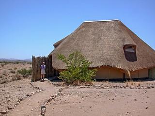 Hütte im Doro !Nawas Camp, Damaraland