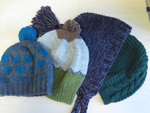 Community Knitting Hats!
