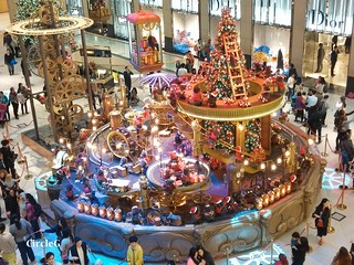 中環 置地廣場 central hongkong 熊 2015 CIRCLEG 聖誕裝飾 (8)