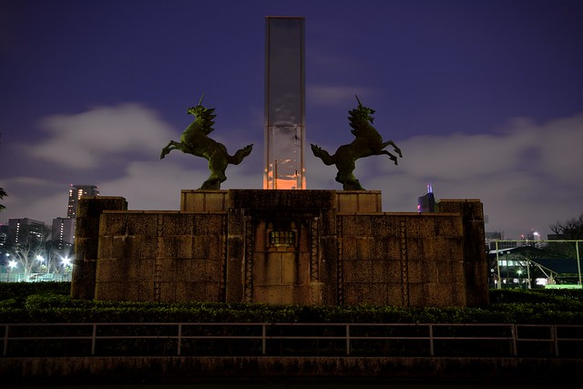 明治神宮外苑の麒麟2