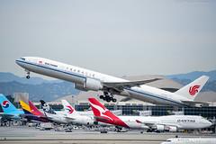 Air China Boeing 777-39LER B-2043