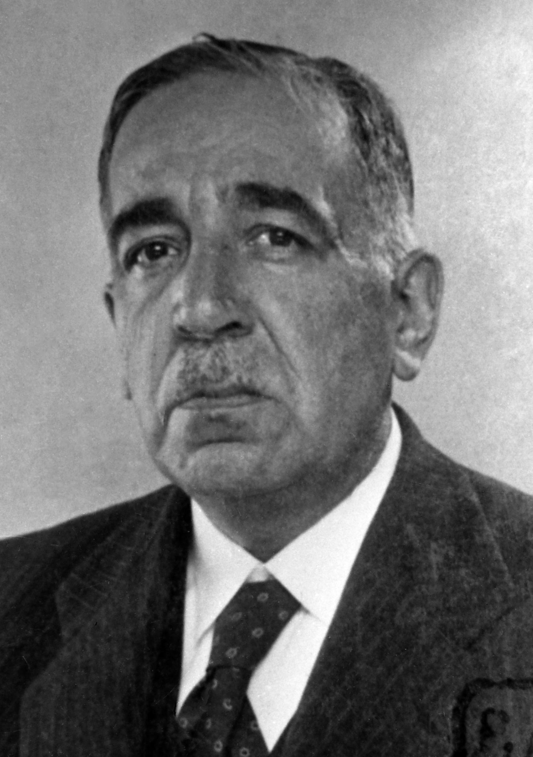 Retrato de Serafín Mainou Sanmiguel hacia 1935