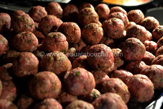 Boulettes de Viande au Curry Rouge Riz aux Poireaux © Ana Luthi Tous droits réservés 19