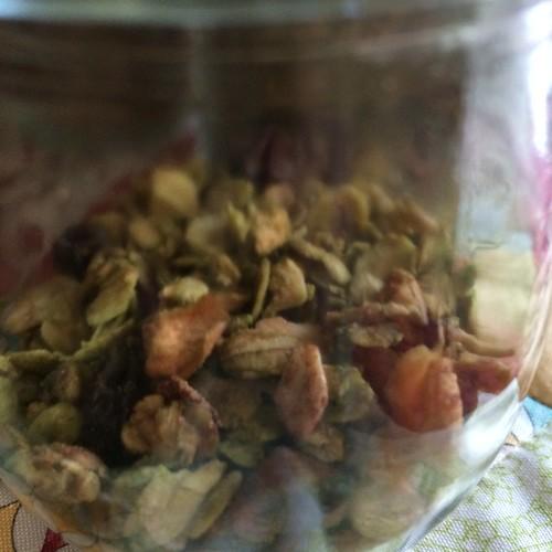 グラノラ3種 抹茶