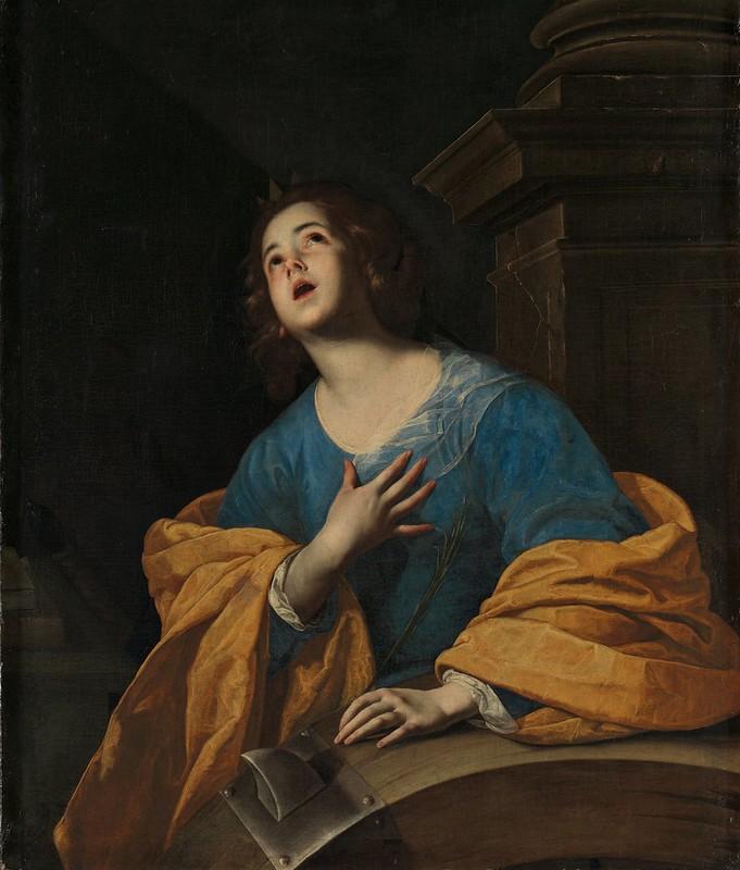 Bernardo Cavallino - Saint Catherine of Alexandria