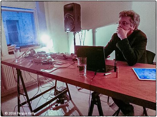 Robin Parmar at Stolen Mirror release party