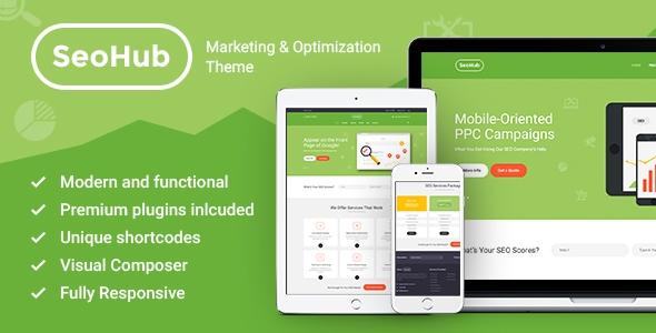 Themeforest SEOHub v1.1 - SEO & Marketing Wordpress Theme