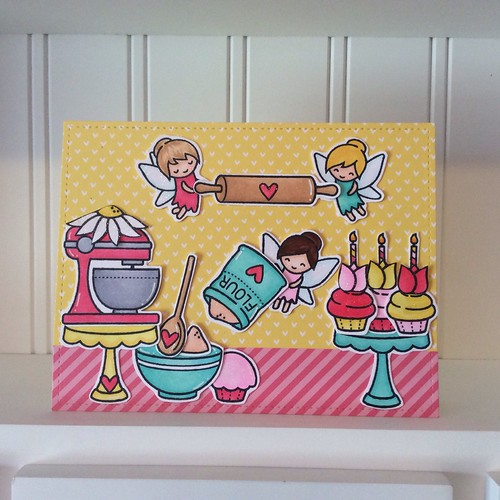 Fairy Baking Card