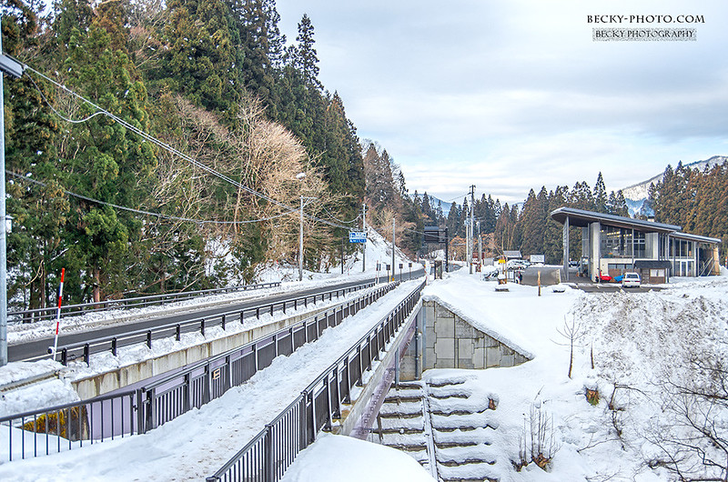 2016.Feb 日本福島只見川鐵橋撮影 @Fukushima, Japan
