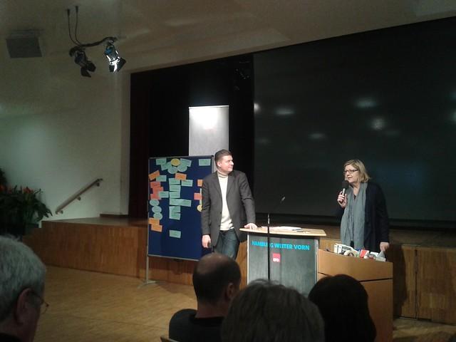 Klausurtagung der SPD Hamburg zum Thema Flüchtlingspolitik