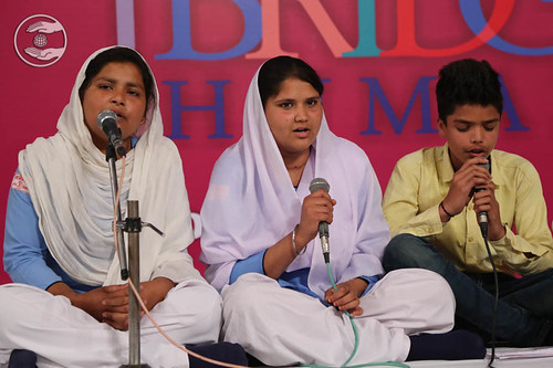Devotional song by by Shivani and Saathi from Shamli