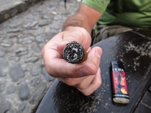 Trinidad: un cigare Montecristo bien roulé