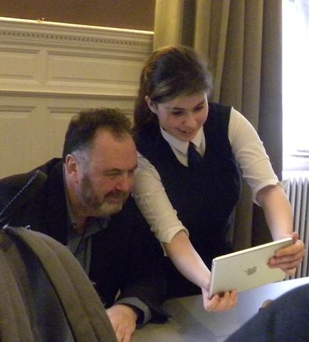 Danny Weston at the 2016 Scottish Children's Book Awards