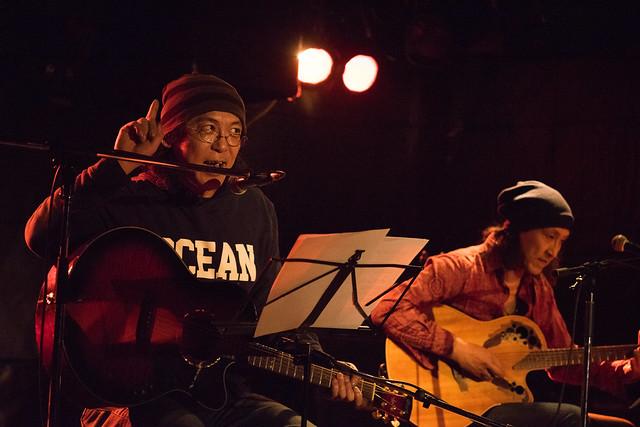 渡辺繁和 with モトイ live at Outbreak, Tokyo, 10 Mar 2016. (7M2)-00054