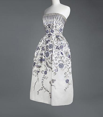 クリスチャン・ディオール イヴニング・ドレス《パルミール》