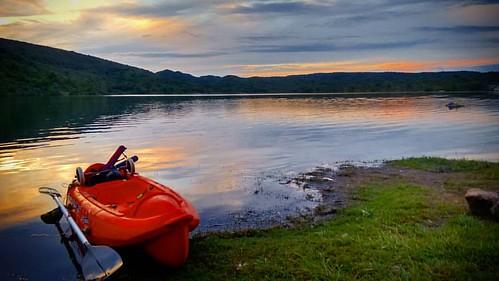 Hermosa tarde de pesca y remo #kayak #kayakfishing en #villasegundausina #sierrasdecordoba #cordoba #argentina #argentinaestrella #flyfishing #redington #sun #sunset #relax #paz #lago #lake #sky #skyporn